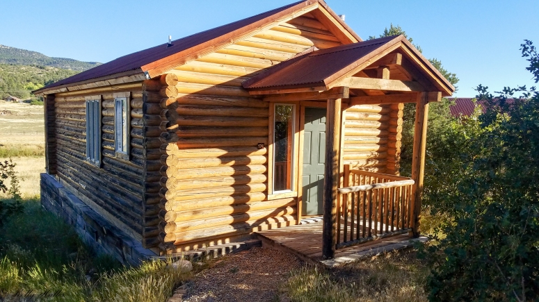log htm cabin sale creek full for near real estate duck zion view cabins estates mountain in